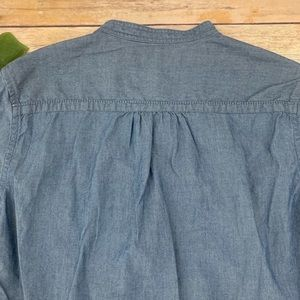 Uniqlo Tops - Ines De La Fressange x Uniqlo women's chambray top